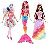 Barbie DWV50 - Dreamtopia Regenbogen Königreich Geschenkset