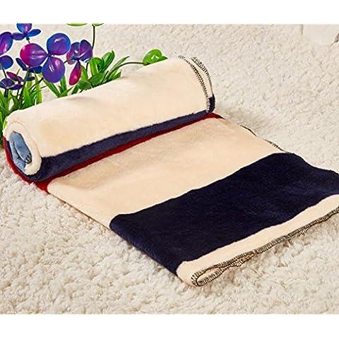 Animale domestico Kennel pad cane coperta coperte autunno/inverno caldo coperte