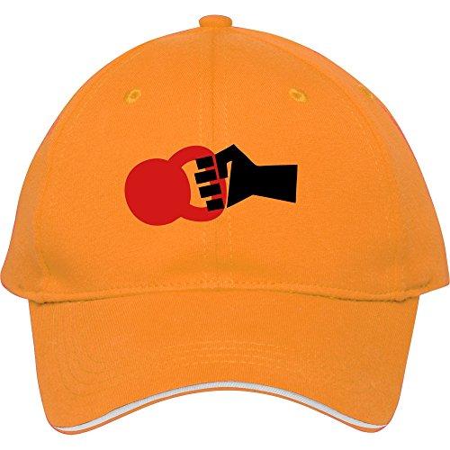 Swinging Kettlebell WOD Snapback Cap Hat für in Frauen-Baseball GAP Baumwolle donfar, damen unisex Herren, gelb (Pink Harley-davidson Hat)