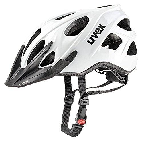 Uvex Erwachsene stivo Mountainbikehelm, White, 52-57