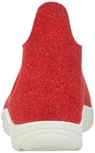 Berkemann Alina Damen Hohe Hausschuhe Rot (rot 235)