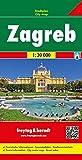 Freytag Berndt Stadtpläne, Zagreb - Maßstab 1:20.000: Stadskaart 1:15 000 - Freytag-Berndt und Artaria KG