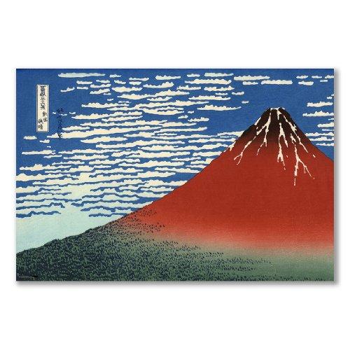 poster-art-print-hokusai-south-wind-clear-sky-red-fuji-a1-maxi-61x915cm-24x36in-semi-gloss-satin-pap
