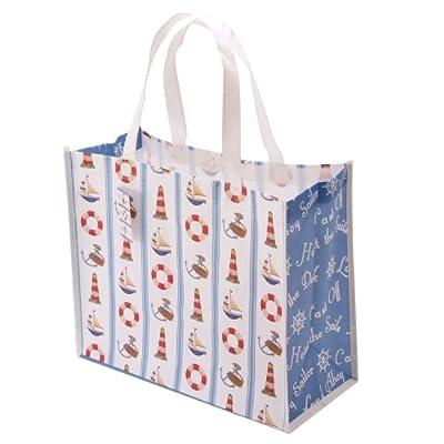 Jan Pashley Nautical Pattern Shopping Bag