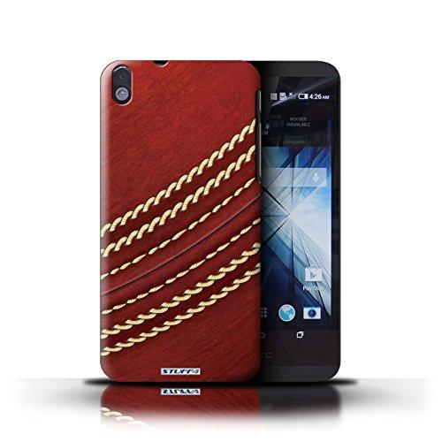Kobalt® Imprimé Etui / Coque pour HTC Desire 816 / Football conception / Série Balle Sportif Cricket