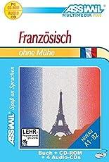 Französisch ohne Mühe - MultimediaPlus, Lehrbuch mit 4 Audio-CDs und CD-ROM