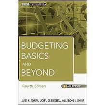 Budgeting Basics and Beyond by Jae K. Shim (2011-11-01)