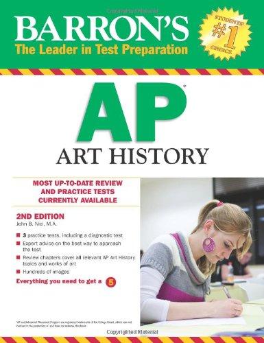 Barron's Ap Art History (Barron's Study Guides)
