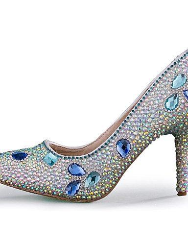 WSS 2016 chaussures talon aiguille talons talons mariage / fête des femmes&soirée / robe multi-couleurs 3in-3 3/4in-us7.5 / eu38 / uk5.5 / cn38
