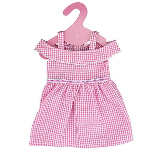 P Prettyia Niedliche Kleider Puppenkleid Set für 40-45cm - Unterwäsche-set Puppenkleidung