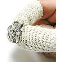 Fingerlinge Baumwolle Finger Wachen Elastic Finger Schutz 10Stück (E1) preisvergleich bei billige-tabletten.eu