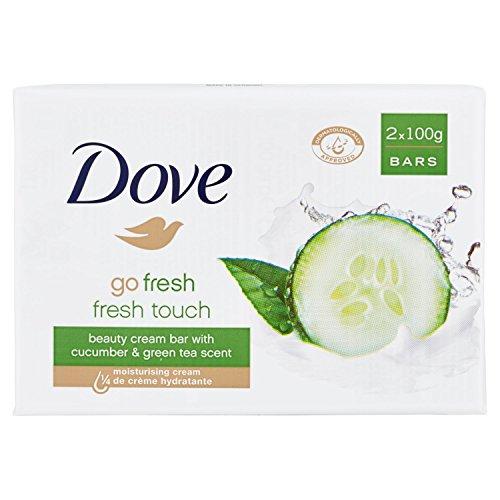 Dove Jabon Crema Go Fresh Set de 2 Savons à Mains 200 g
