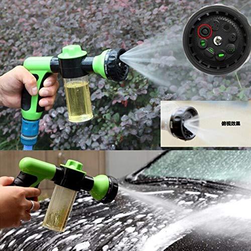 Dial-seife (EdBerk74 Auto Waschschaum Pistole Auto Reinigung Waschen Schneeschäumer Lanze Auto Wasser Seife Shampoospray Schaum für Auto)