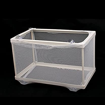 Sourcingmap Self Floating Isolation Divider Fish Tank Aquarium Breeding Net 4
