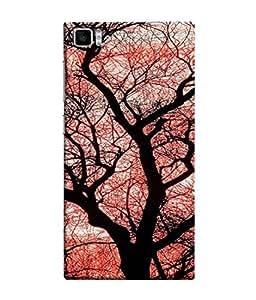 FUSON Designer Back Case Cover for Xiaomi Mi3 :: Xiaomi Mi 3 (Trees Gardens Big Old Jungle Branches Birds Singing)