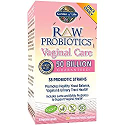RAW Probiotics, Vaginal Care, 30 Veggie Caps (Ice) - Garden of Life - Qty 1