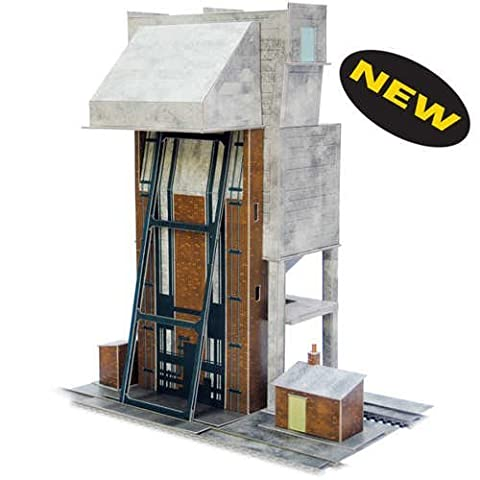 Superquick Coaling Tower - 1/72 OO/HO - Card Model Kit by Superquick