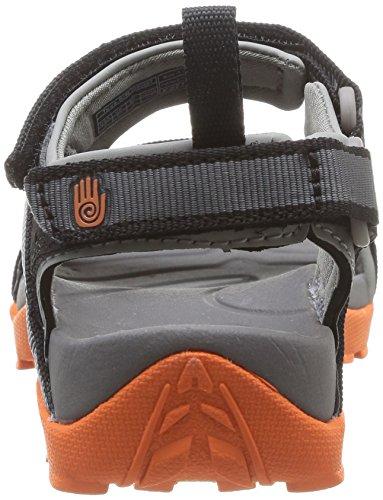 Teva Tanza M's Herren Sport- & Outdoor Sandalen Grau (Grey/Orange)