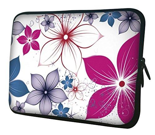 "Preisvergleich Produktbild WATERFLY 14"" 14.1"" 14.4"" Zoll Neopren Laptoptasche Notebook-Schutzhülle Netbook Tablet Computer Chromebook Tasche Hülle (14H-124)"