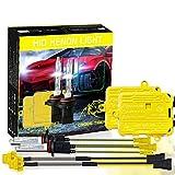 Luci di alta qualità, Ein Satz 9006 HB4 Wechselstrom 12V 55W 5500LM IP65 imprägniern Xenon-Lampe 6000K Auto-heller Scheinwerfer VERSTECKTE Xenon-Birnen-Installationssatz