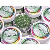 Rainbow Dust Colorant Alimentaire Briller Scintiller Glitter Pour Décoration de Gâteau - JEWEL MER VERTE