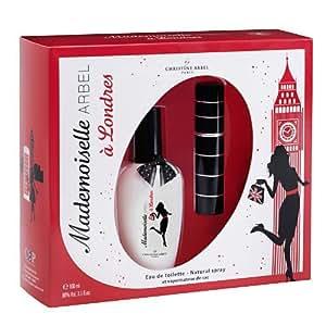 Coffret Mademoiselle Arbel à Londres : 1 eau de toilette vaporisateur + 1 vaporisateur de sac - Christine Arbel