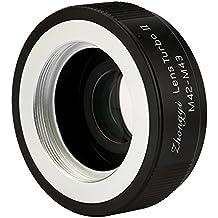 Zhongyi Mitakon Lens Turbo II M42-M43 Focal Reducer Booster Adapter for M42 Lens to Olympus Panasonic Cameras