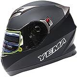 YEMA YM-829 Casque Intégraux Moto Double Visière