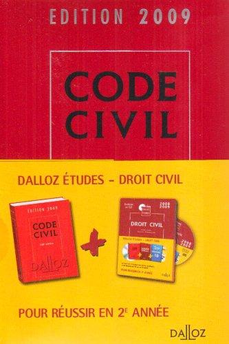 Code civil 2009 (1Cédérom) par Georges Wiederkehr