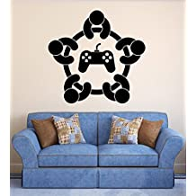 ELTON Games Decal Sticker Wall Vinyl Art Design Gamer Cool Funny Game Room