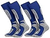 Tobeni 2 Paar Skisocken Snowboard Socken für Damen und Herren