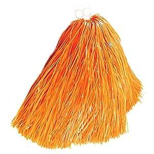 Pompons de danse pompom girl orange pompons pompon pompom boule de poils pompon accessoires déguisement accessoire