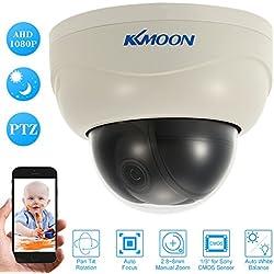 KKmoon 3 Zoll 1080p HD PTZ Dome IP-Kamera 2.8 ~ 8 mm Autofokus-Manuellen Vario Zoomobjektiv 2.0MP 1/3 Zoll CMOS Unterstützung Telefon APP Control Motion Detection Nachtsicht für Home Security