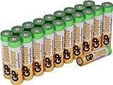 Batterien AAA Micro Super Alkaline Vorratspack 20...