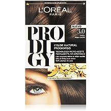 L'Oréal Prodigy Coloración Sin Amoniaco, Tono: 3.0 Negro Castaño Khol