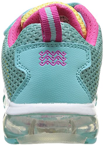 Geox J ANDROID A Mädchen Sneakers Türkis (WATERSEA/YELLOWC3083)