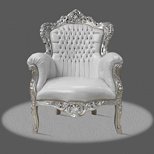 LouisXV Sillón barroco fauteuille estilo antiguo rococó AlCh0500SiSkWe