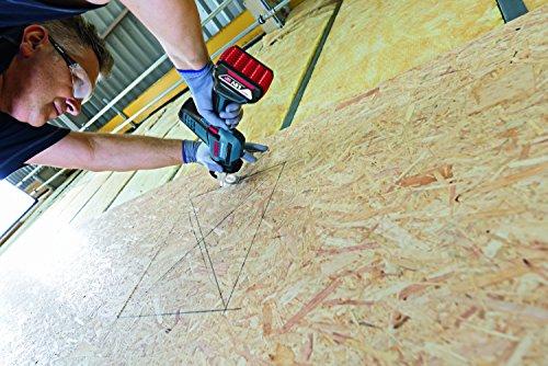 Bosch Professional Akku Säbelsäge GSA 18 V-LI C (2x 5,0 Ah Akku, Ladegerät, 3x Sägeblatt, L-Boxx, Schnitttiefe in Holz/Stahl: 200 mm/16 mm, 18 Volt) - 3