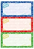 Herma 5562 Buchetiketten Schule, Motiv Schoolydoo, Inhalt: 9 Heftetiketten für Schulhefte, Format 7,6 x 3,5 cm
