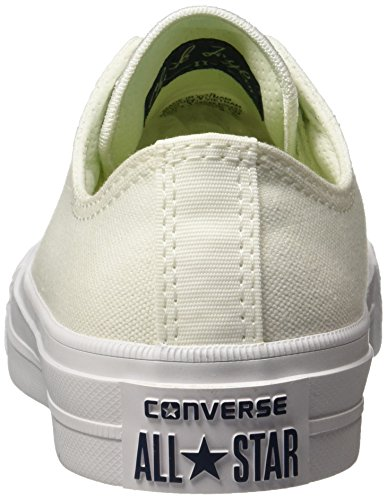 Converse Ct Ii Ox, Baskets Blanches Unisexes-adultes