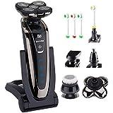 5D Shaver Set : Men's Wet/dry Shaving Machine 5D Shaver Rechargeable Electric Shaver Waterproof Electric Razor...