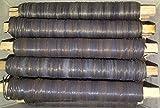 (0,01€/m) 25 Rollen Wickeldraht Bindedraht Basteldraht blaugeglüht 0,65mm Draht
