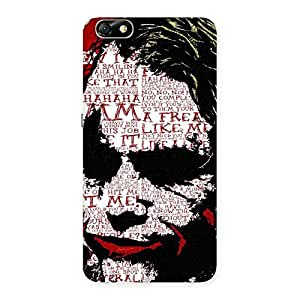 Psyco Typo Back Case Cover for Honor 4X