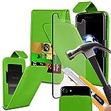 (Grün 154,3 x 76,5 mm) Tasche Hülle für BLU Vivo 8