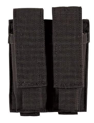 Voodoo Tactical Double de pistolet Mag Pouch, Adulte, mixte, noir