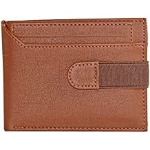 Accezory Men Tan Artificial Leather Wallet