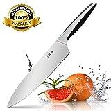 Un choix optimal pour tous les amateurs de cuisineCet outil est fait pour tout chef. Notre couteau de grand chef est polyvalent et peut être utilisé pour couper, hacher, couper en dés, émincer, couper en juliennes, les coupes de viande, et même écras...