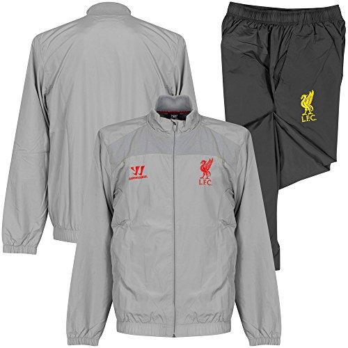 2014-15 Liverpool Warrior Presentation Tracksuit (Alloy)