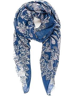 Pañuelos Fular Foulard Mujer Bufandas Estampado Diseño Español 100% Viscosa