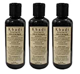 Khadi Herbal Amla & Bhringraj Hair Oil, 630ml - Pack of 3